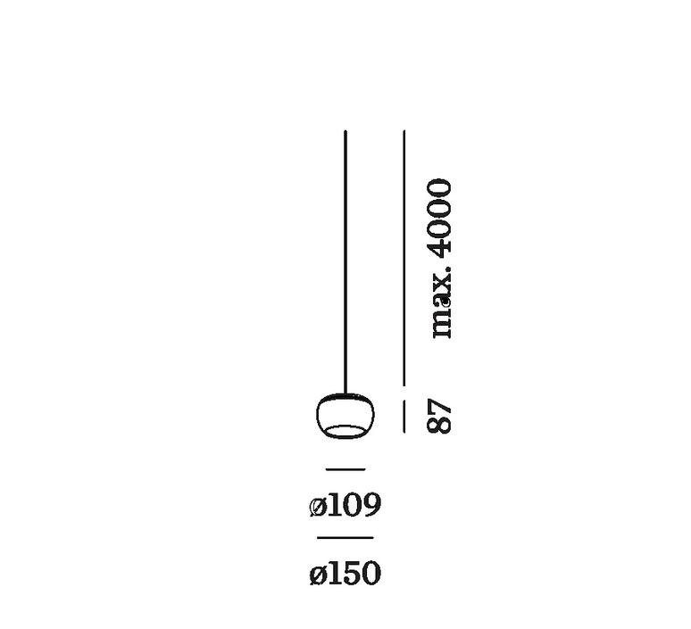 Wetro 1 0 taupe diamond studio wever ducre suspension pendant light  wever et ducre 236189td9  design signed nedgis 89225 product