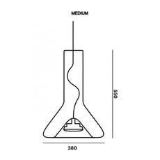 Whistle medium  suspension pendant light  brokis pc953 cgc23 cgsu66 ccs575 ccsc618 cecl521 ceb717  design signed 74523 thumb