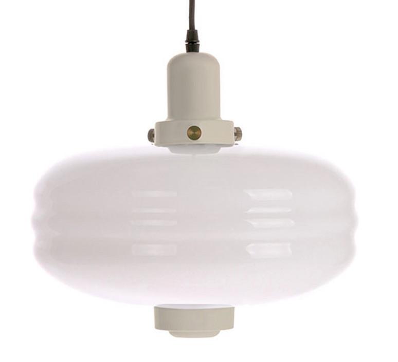 White glass pendant lamp l warm grey  suspension pendant light  hk living vol5035  design signed 60453 product
