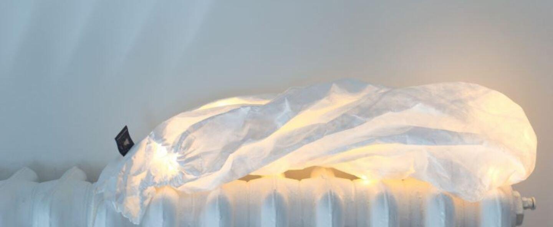 Suspension white lamp long m blanc o36cm h48cm ekaterina galera normal