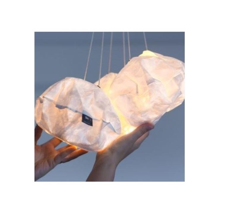 White lighting ball ekaterina galera suspension pendant light  ekaterina galera whitelightingball  design signed nedgis 87844 product