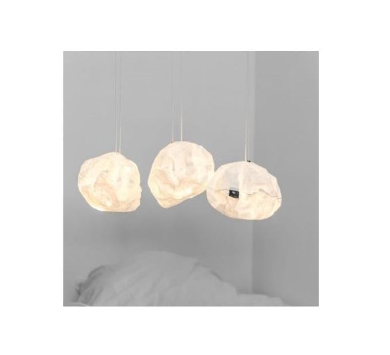 White lighting ball ekaterina galera suspension pendant light  ekaterina galera whitelightingball  design signed nedgis 87850 product