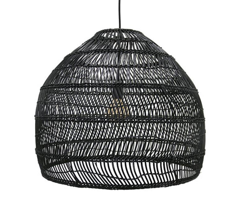 Wicker ball large studio hk living suspension pendant light  hk living vol5014   design signed 39077 product