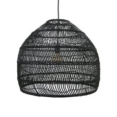 Wicker ball large studio hk living suspension pendant light  hk living vol5014   design signed 39077 thumb