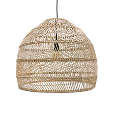 Wicker ball medium studio hk living suspension pendant light  hk living vol5015   design signed 39071 thumb