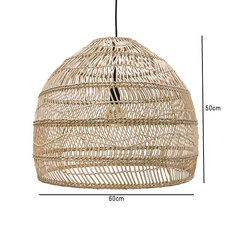 Wicker ball medium studio hk living suspension pendant light  hk living vol5015   design signed 39072 thumb