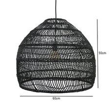 Wicker ball medium studio hk living suspension pendant light  hk living vol5016   design signed 39076 thumb
