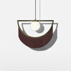 Wink masquespacio suspension pendant light  houtique 2125627  design signed 49365 thumb