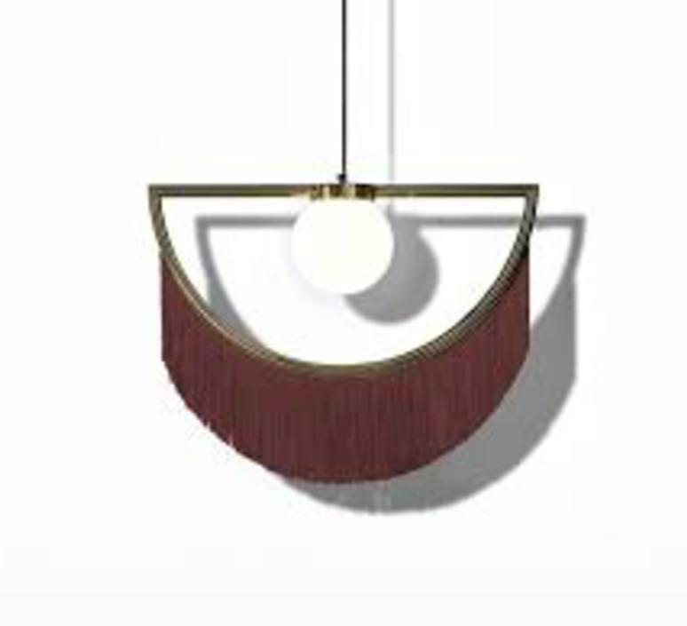Wink masquespacio suspension pendant light  houtique 2125627  design signed 49368 product