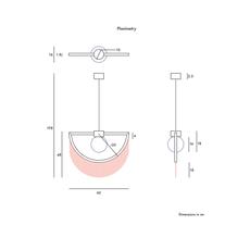 Wink masquespacio suspension pendant light  houtique 2125628  design signed 49377 thumb