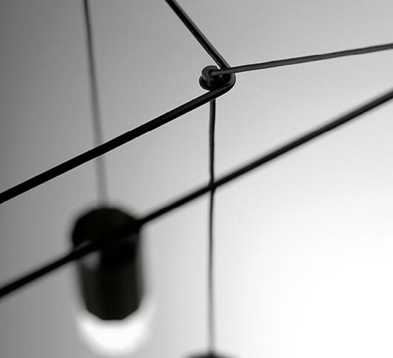 Wireflow arik levy suspension pendant light  vibia 029904 1a  design signed nedgis 79479 product