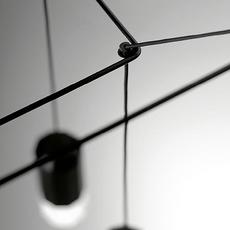 Wireflow arik levy suspension pendant light  vibia 029904 1a  design signed nedgis 79479 thumb