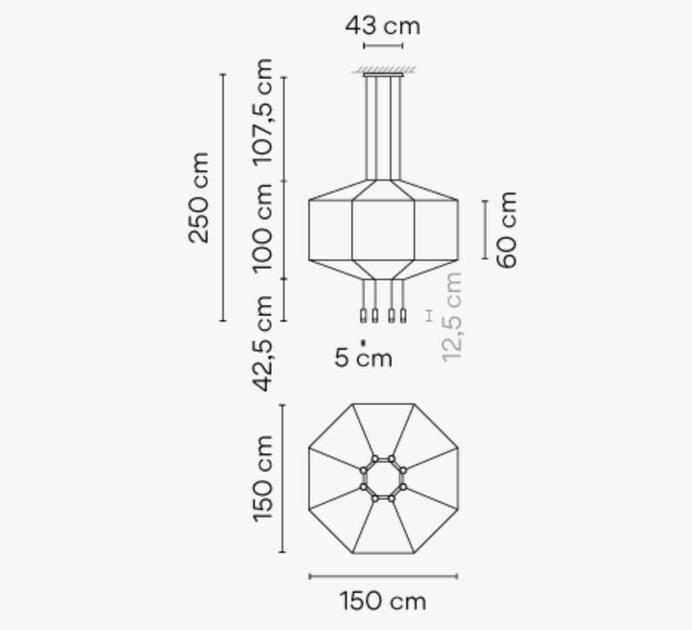 Wireflow arik levy suspension pendant light  vibia 029904 1a  design signed nedgis 79482 product