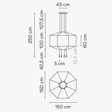 Wireflow arik levy suspension pendant light  vibia 029904 1a  design signed nedgis 79482 thumb