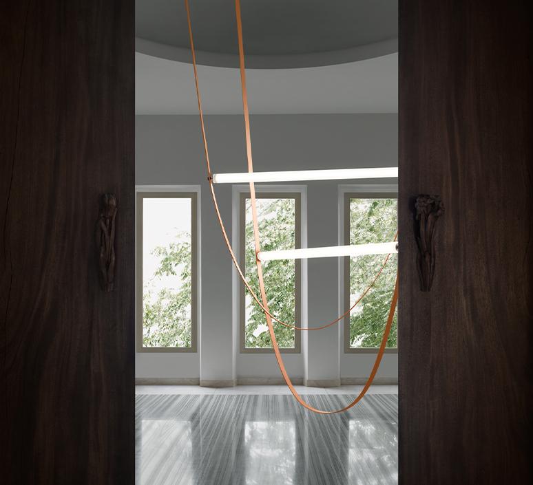 Wireline studio formafantasma suspension pendant light  flos f9520034  design signed nedgis 116947 product