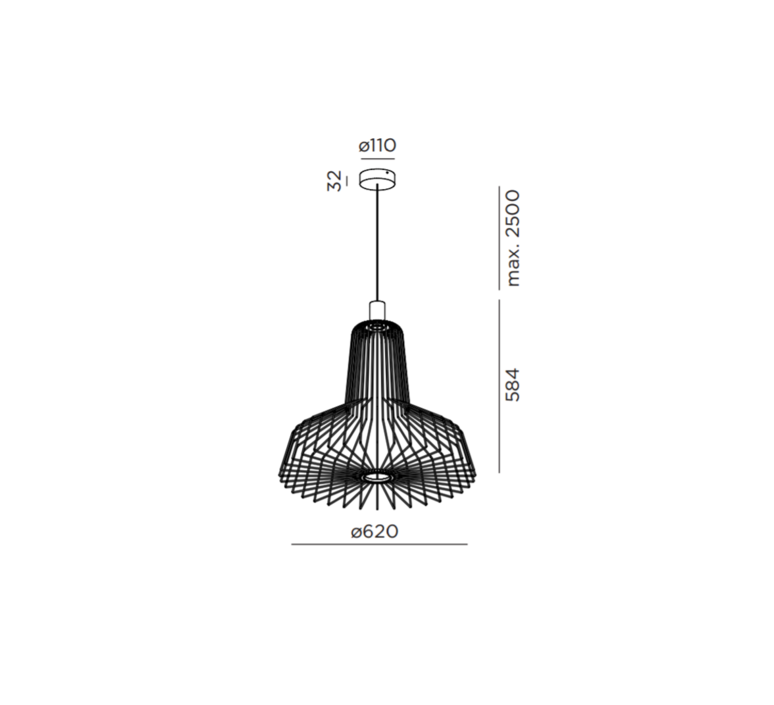 Wiro industry 2 0 studio wever ducre suspension pendant light  wever et ducre wiroindustry2 0vert  design signed 32929 product