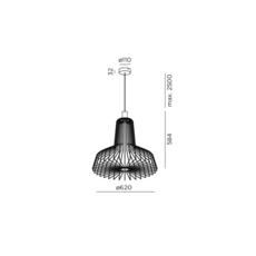 Wiro industry 2 0 studio wever ducre suspension pendant light  wever et ducre wiroindustry2 0vert  design signed 32929 thumb