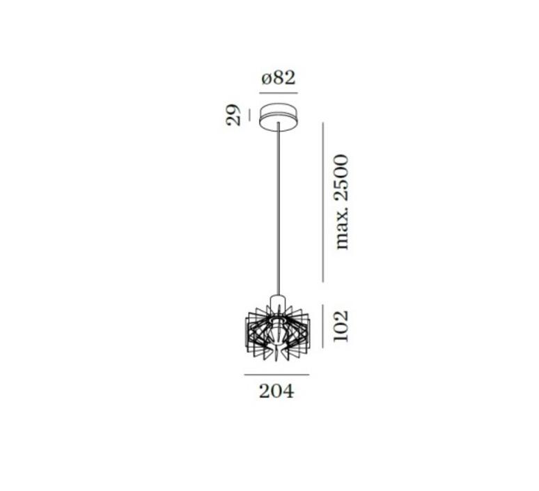 Wiro studio wever ducre wever et ducre 2096eobo 9003e125 luminaire lighting design signed 24793 product