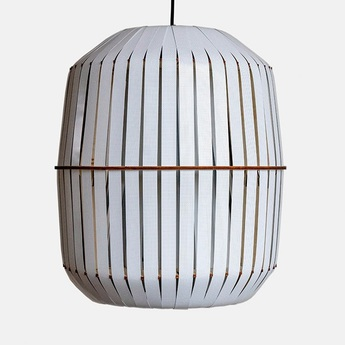 Suspension wren large blanc o56cm h64cm ay illuminate normal