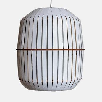 Suspension wren large blanc o56cm h64cm ay illuminate normal