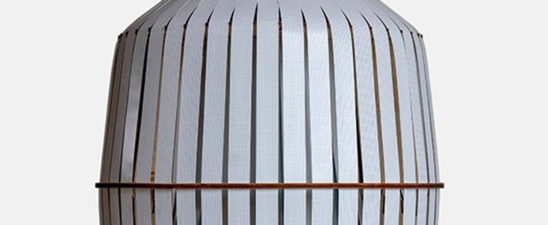 Suspension wren medium blanc o44cm h52cm ay illuminate normal
