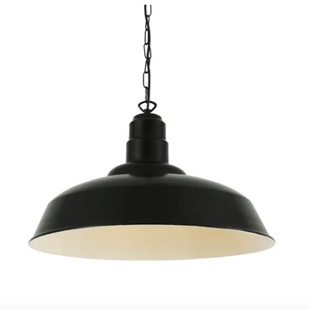 Suspension wyse noir mat o50cm h30cm mullan lighting normal