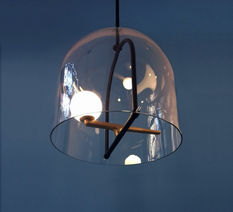 Yanzi neri et hu suspension pendant light  artemide 1103010a  design signed 55190 product