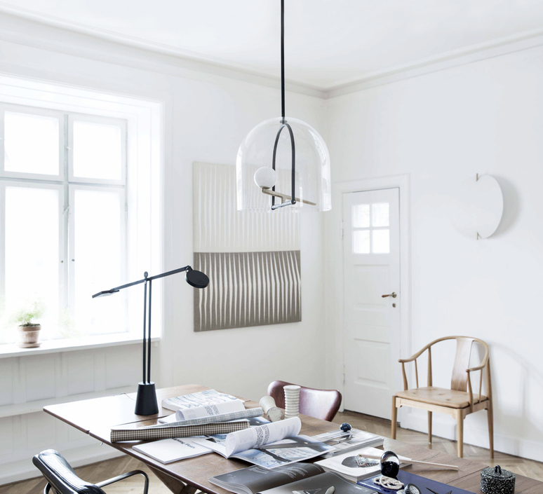 Yanzi neri et hu suspension pendant light  artemide 1103010a  design signed 55191 product