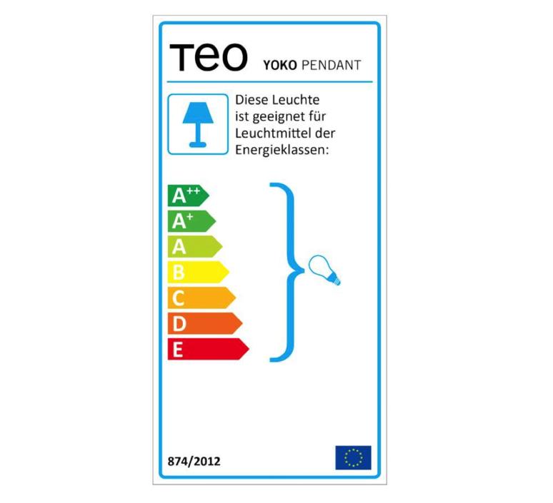 Yoko  suspension pendant light  teo t0006 bk006  design signed 39170 product