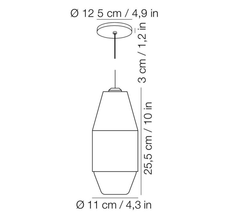 Yuma david pompa suspension pendant light  kundalini 370310eu  design signed 42471 product