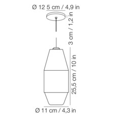 Yuma david pompa suspension pendant light  kundalini 370310eu  design signed 42471 thumb