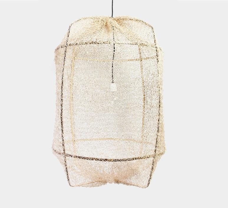Z1 black sisal net tea dye ay lin heinen et nelson sepulveda suspension pendant light  ay illuminate 901 100 01 snt p  design signed nedgis 116791 product