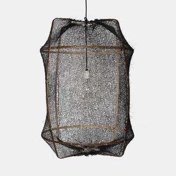 Suspension z1 sisal net black noir o67cm h100cm ay illuminate normal