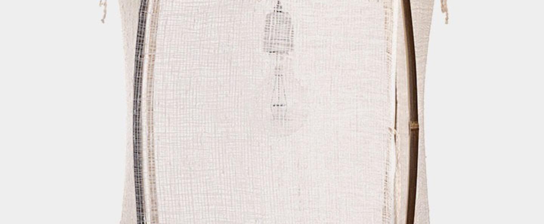 Suspension z11 silk cashemere blanc o48 5cm h72 5cm ay illuminate normal