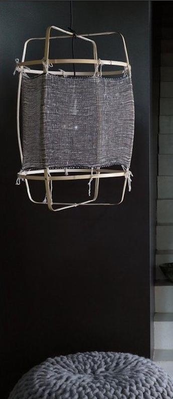 Suspension z11 silk cashemere noir o48 5cm h72 5cm ay illuminate normal