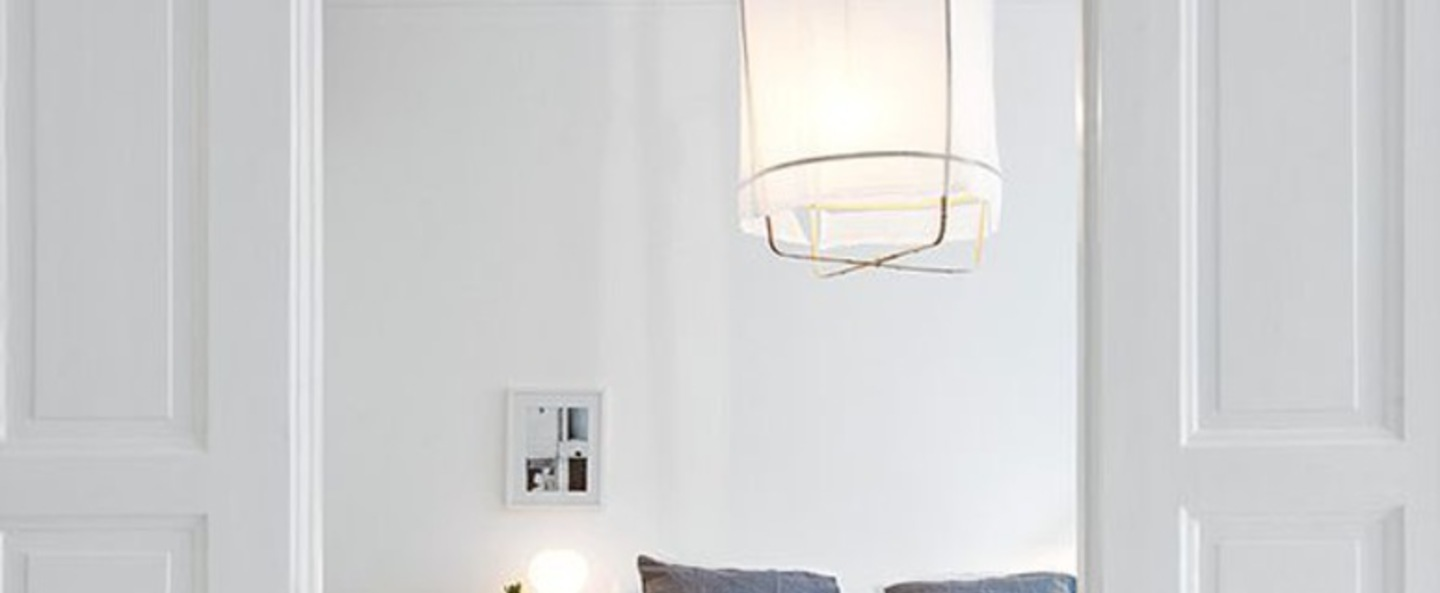 Suspension z2 blond cotton blanc o67cm h100cm ay illuminate normal