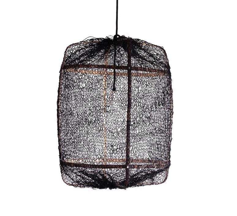 Z5 sisal net ay lin heinen et nelson sepulveda suspension pendant light  ay illuminate 905 100 01 snb p  design signed 37162 product