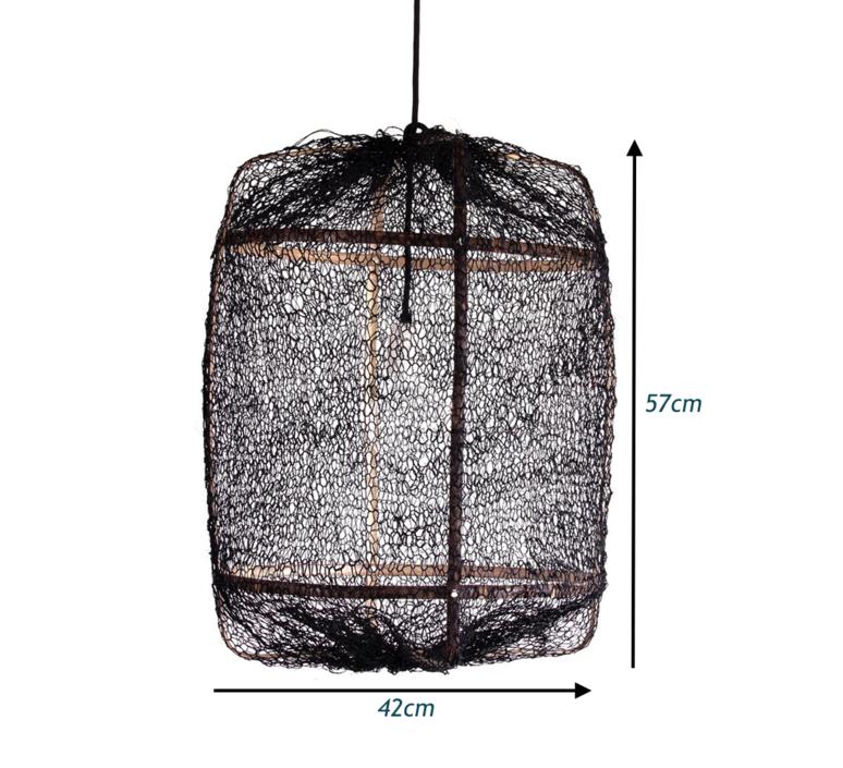 Z5 sisal net ay lin heinen et nelson sepulveda suspension pendant light  ay illuminate 905 100 01 snb p  design signed 37163 product
