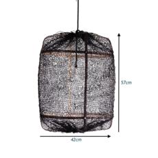 Z5 sisal net ay lin heinen et nelson sepulveda suspension pendant light  ay illuminate 905 100 01 snb p  design signed 37163 thumb