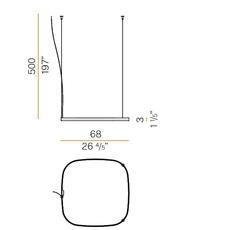 Zero square studio tecnico panzeri suspension pendant light  panzeri m03219 075 0510  design signed nedgis 119881 thumb