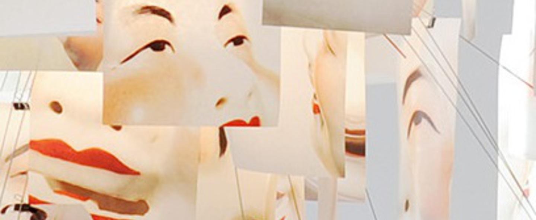 Suspension zettel z laughing buddha blanc o120cm h120cm ingo maurer normal