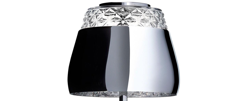 Table lamp valentine table chrome led o21cm h45cm moooi normal