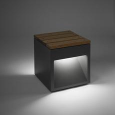 Lap bench david abad b lux lap bench 45b led grey luminaire lighting design signed 18958 thumb