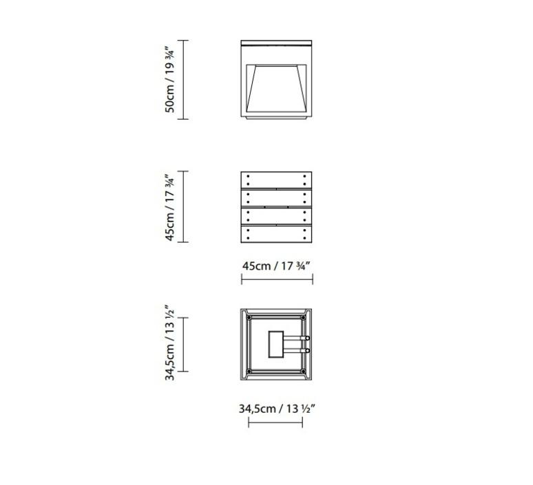Lap bench david abad b lux lap bench 45b led grey luminaire lighting design signed 18959 product