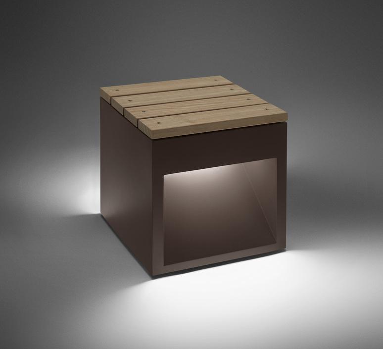 Lap bench david abad b lux lap bench 45b led rust luminaire lighting design signed 18952 product