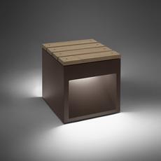 Lap bench david abad b lux lap bench 45b led rust luminaire lighting design signed 18952 thumb