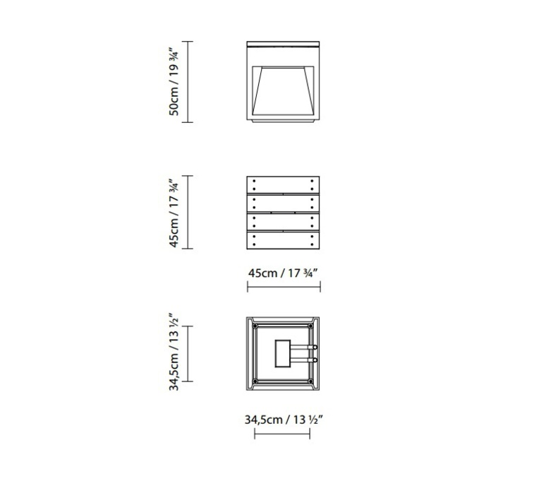 Lap bench david abad b lux lap bench 45b led rust luminaire lighting design signed 18953 product