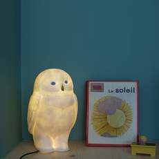 Akira chouette yeux bleus eva newton goodnight light akira the owl lamp yeux bleus luminaire lighting design signed 21622 thumb