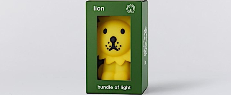 Veilleuse lion jaune o10cm h16 5cm mr maria normal
