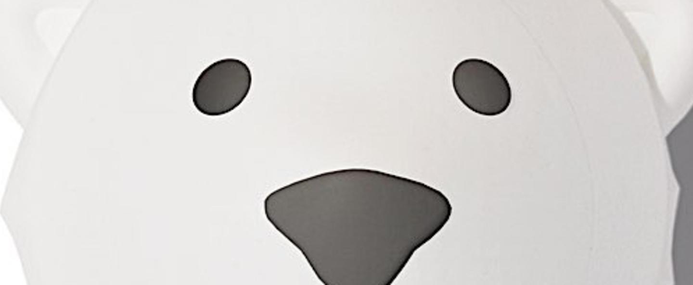 Veilleuse veilleuse bjorn blanc led k lm o16cm h10cm flow amsterdam normal
